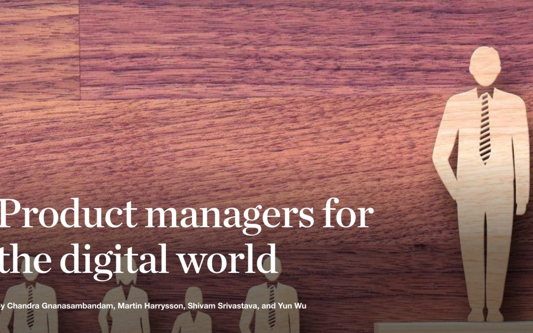 Product managers for the digital world